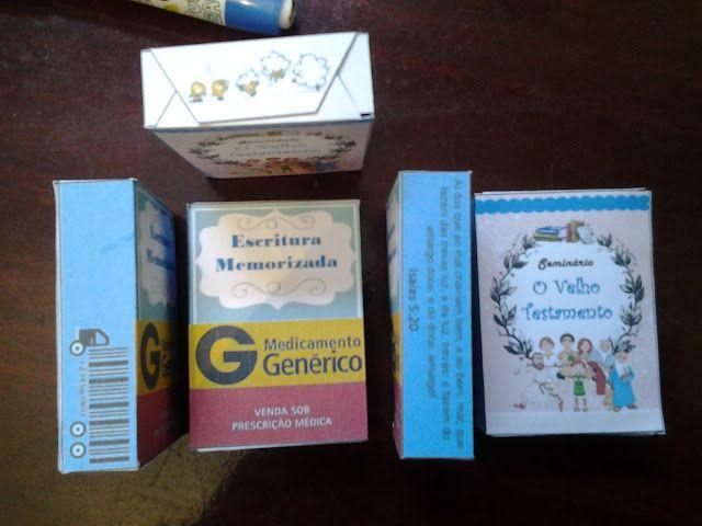 As Tontas Vão Ao Céu: Caixa de Remédio - Escritura de Memorização do Sem...
