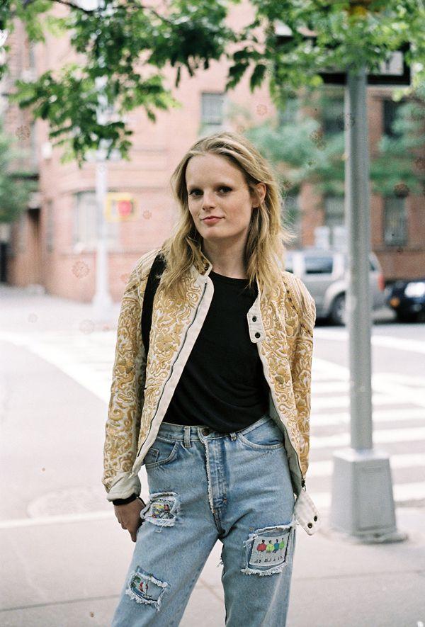 #Hanne Gaby Odiele #street style