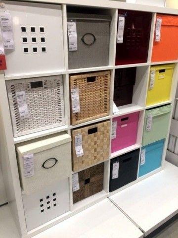 イケア収納はコレ!IKEA HACKERが教える最強の収納棚-カウモ カラフルなボックスと一緒に