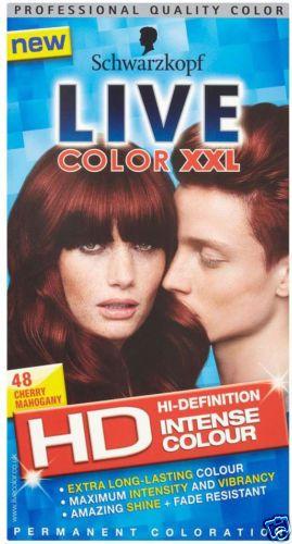 New Schwarzkopf Live Hair Color XXL Permanent Professional Quality Colour Dye UK | eBay