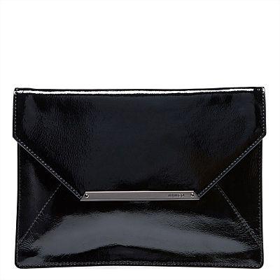 THE OVERSIZE ORIGAMI ZIP ENVELOPE  #mimco #accessories
