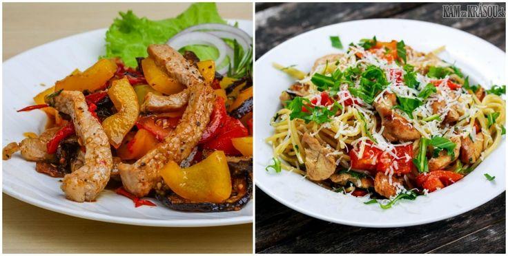 zdravá strava, chutné šaláty, recepty na šaláty, ako rýchlo a chutne navariť, rýchle jedlá