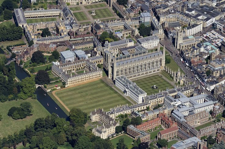 Kings College - Cambridge aerial image | by John Fielding #cambridge #UK #aerial #kings #college #university