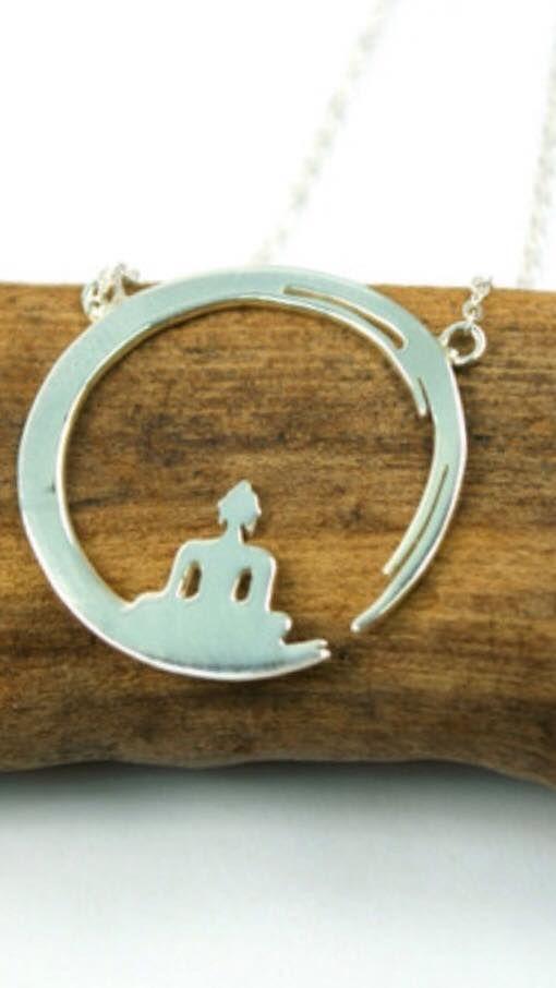 Buddha necklace :)