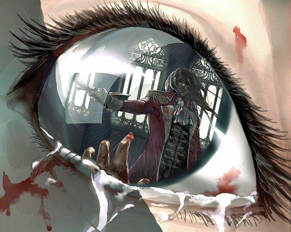 Anime Scary Eyes