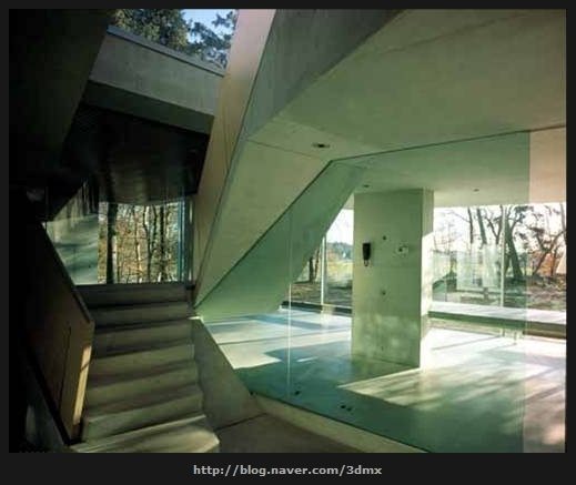 UN Studio, mobius house interior