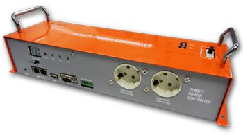 "This is remote power controller(RPC). The website is ""http://www.cospan.com/english/""."