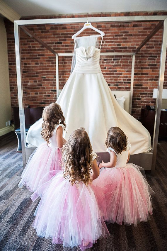 Sweet Flower Girl TuTu(size 2-4years). CUSTOM COLOR tutu, Flower Girl tutu, Baby tutu, Custom Girls tutu, Birthday tutus, Wedding tutu www.poshweddinginvitations #poshinvitations #weddinggown #flowergirl