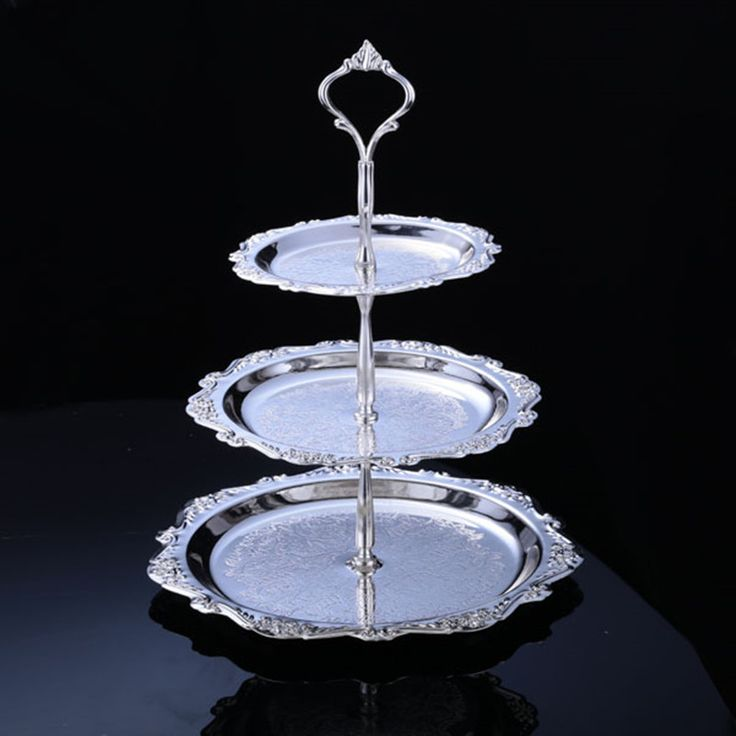 Best Silver Cake Stand Ideas On Pinterest Classic Wedding