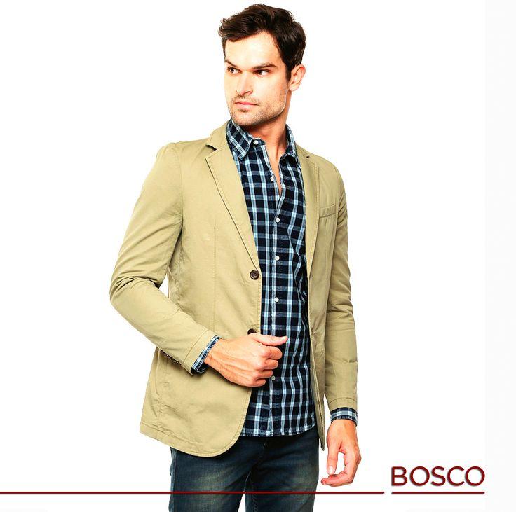 #BoscoModa ¡La primavera ya está muy cerca! ¿Qué te parece este outfit con tonos claros y cortes elegantes? Ideal para cualquier ocasión. ¡Somos tu #moda de ser!