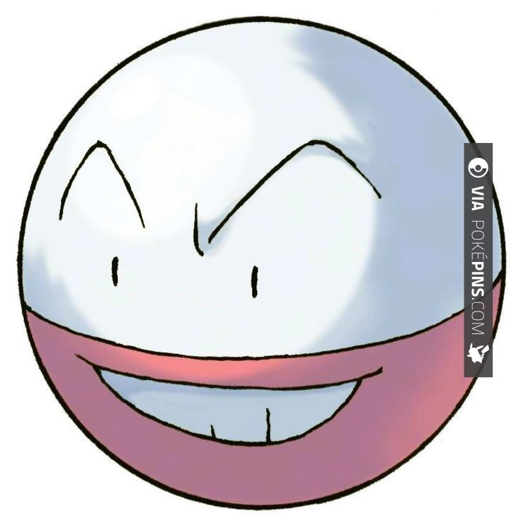 """Cool - Electrode Pokemon Electrode - 101 - It explodes in response to even minor stimuli. It is feared, with the nickname of """"The Bomb Ball."""" It stores an overflowing amount of electric energy inside its body. Even a small shock makes it explode. 