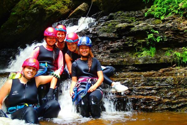 Rafting et Canyoning au Lac Saint-Jean