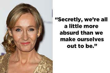 22 Quotes That Prove J.K. Rowling Is A Goddamn Genius