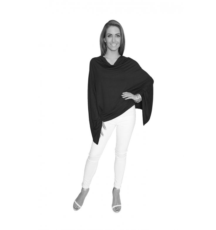 Charcoal Winter Lightweight Poncho