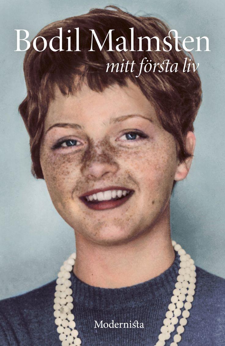 """Bodil Malmsten - """"Mitt första liv"""".  Formgivning: Lars Sundh Kolorering: Marina Amaral   I slutet av augusti 2016 finns denna fina nyutgåva i bokhandeln."""