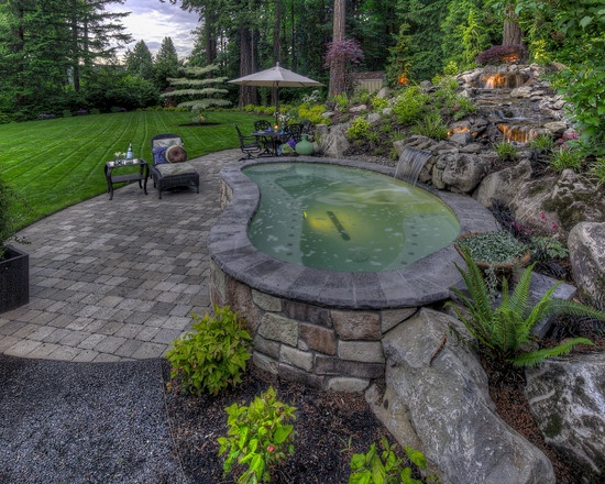Above ground pool design pictures remodel decor and - Above ground pool decor ...