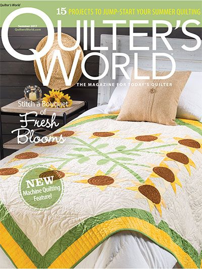 Knitting Quilt Magazine : Best quilter s world magazine images on pinterest