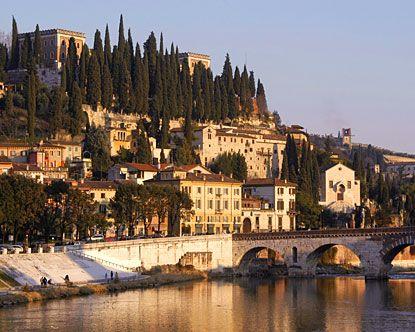 Verona, Italy. Setting of Romeo and Juliet :)
