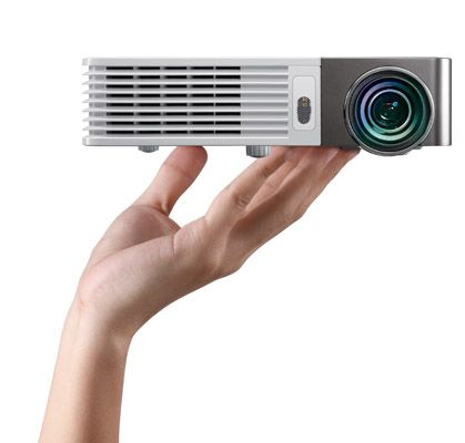 BenQ GP20 Projector £457  - reviewed as best for under £500 @ http://www.trustedreviews.com/best-projector_round-up_Page-3