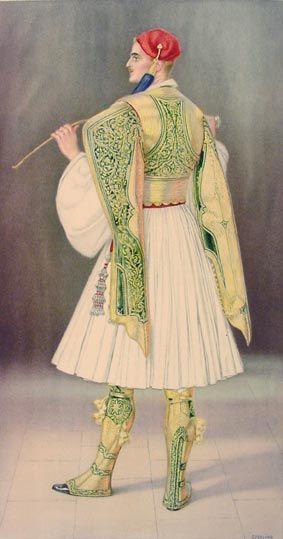 NICOLAS SPERLING #06 - Men's Town Costume of 1835