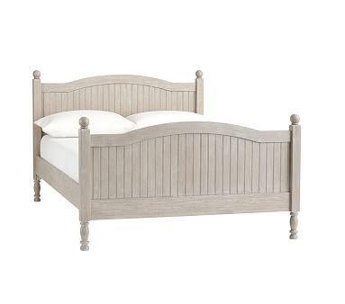 Catalina Full Bed And Luxury Firm Mattress Brushed Fog