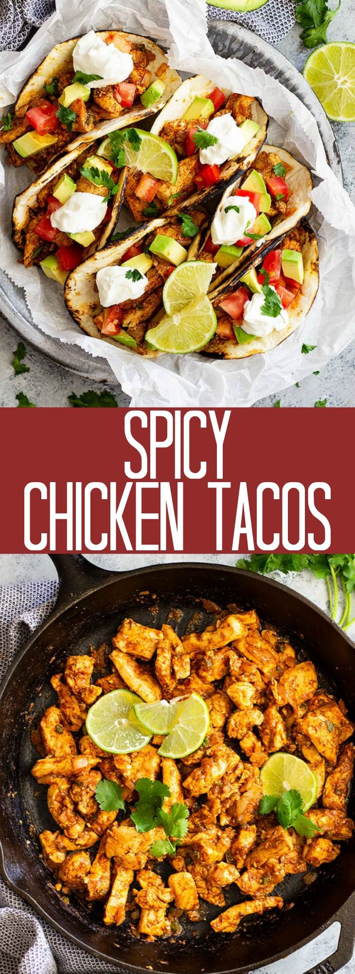 Spicy Chicken Tacos   Countryside Cravings