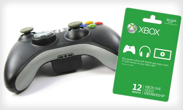 $45 for an Xbox Live 12-Month Gold Membership ($59.99 List Price). Free Shipping. - Groupon