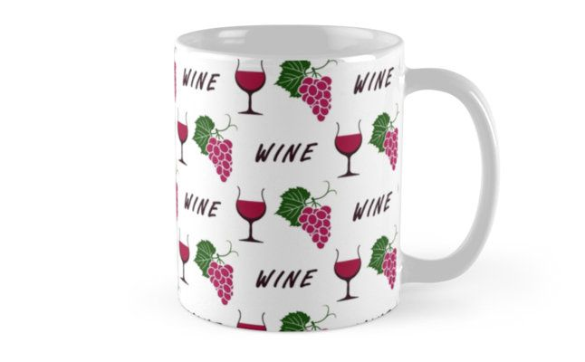 Wine pattern by Stock Image Folio