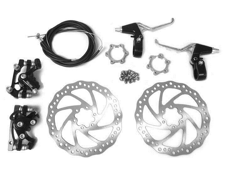 Gas Scooters 75211: Front And Back Disk Brake Kit - 180Mm For 80Cc Gas Motorized Bicycle -> BUY IT NOW ONLY: $47.99 on eBay!