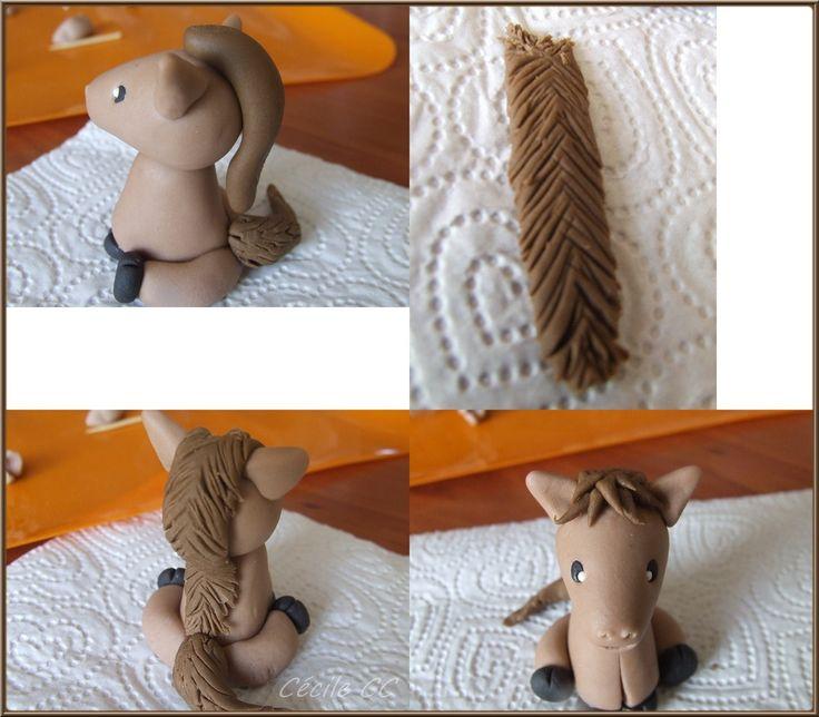 Tutoriel modelage cheval...