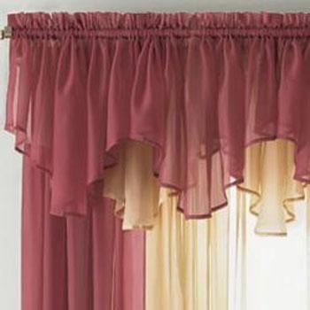cortinas para sala de estar com bando 5