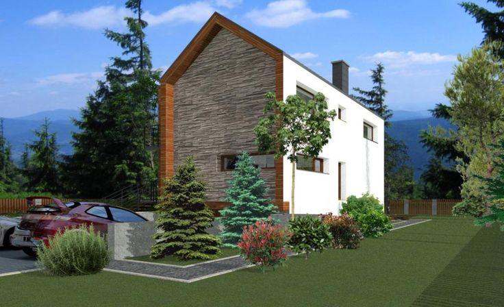Projekty domów ABCentrum-DOM / Projekt DZP-4
