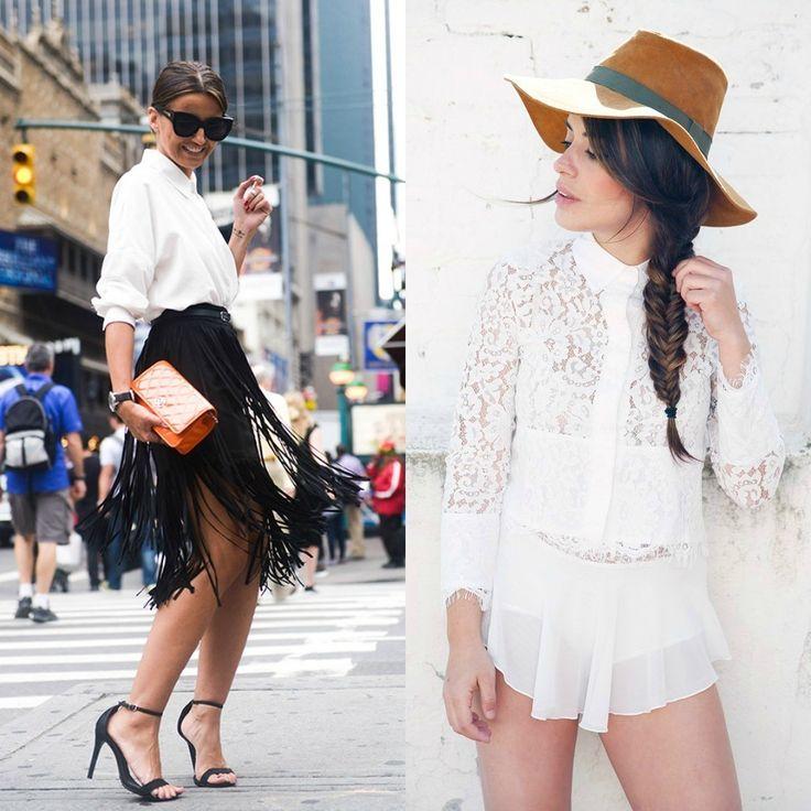 Camisa blanca, la más versátil