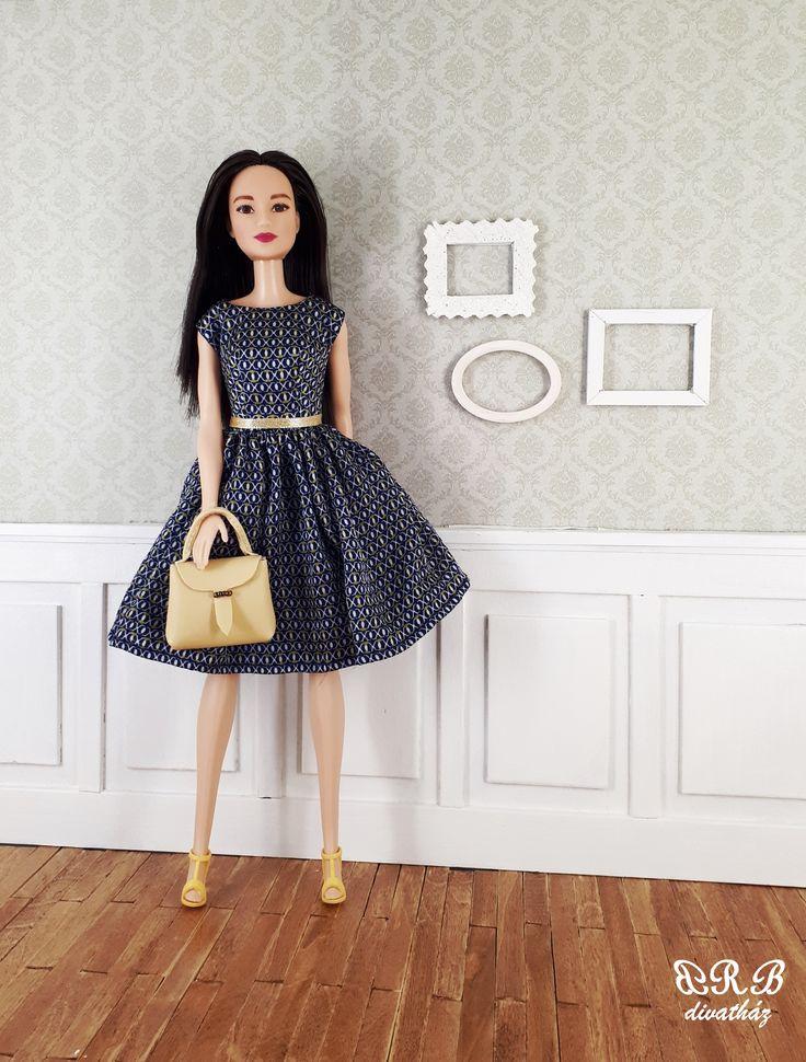 Handmade Barbie clothes 100% silk