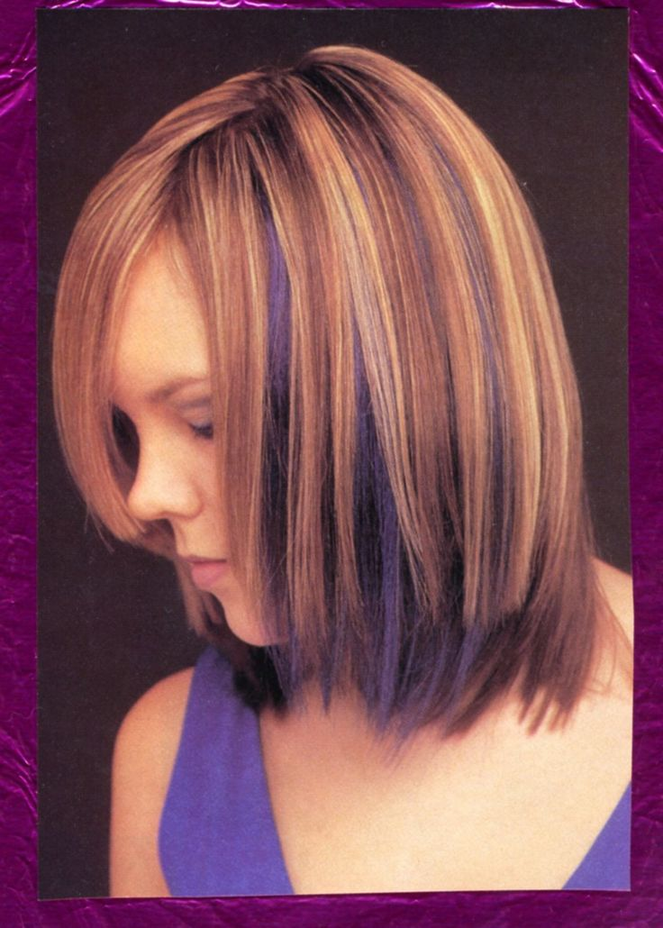 Best 25+ Purple highlights underneath ideas on Pinterest ...