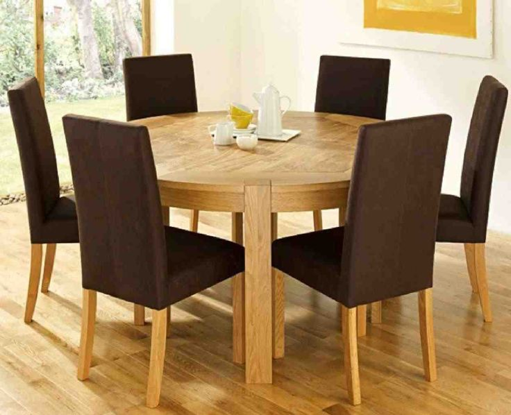 New Rustic Round Dining Table For 6 At Temasistemi.net