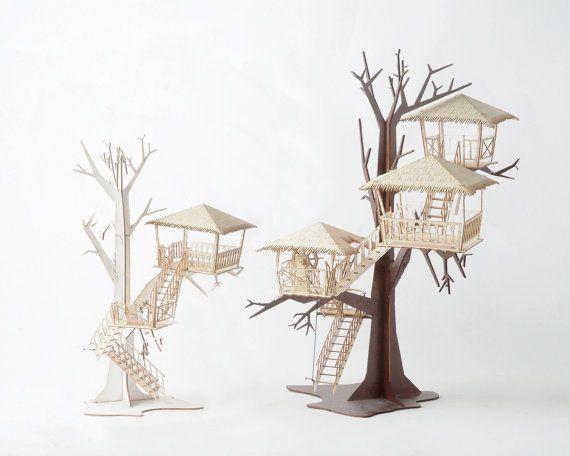 Model tree house kit