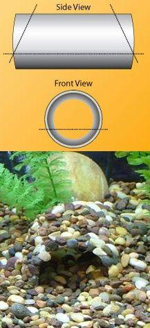 Make Your Own DIY Aquarium Cave From PVC Pipe http://www.aquariumlife.net/projects/diy-decoration/99.asp