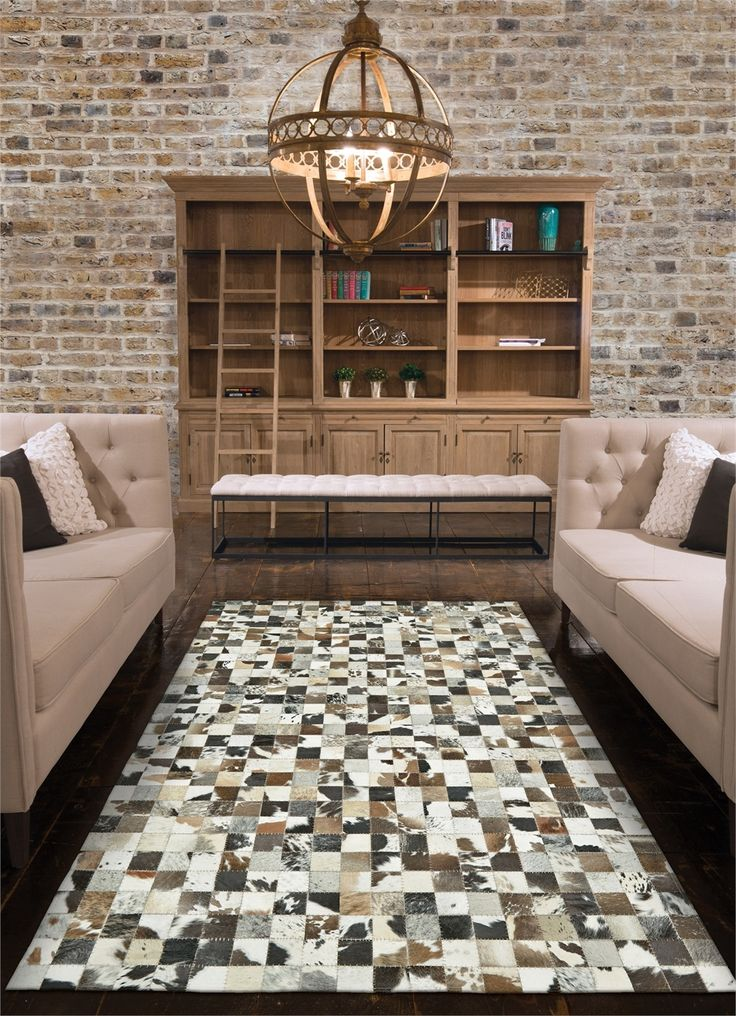 Feizy Rugs Estelle Collection Cowhide Area Rug Www