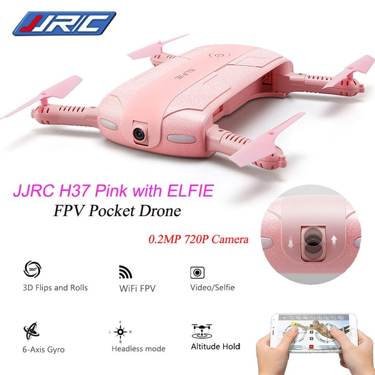 Aliexpress.com : Buy Original JJRC Camera Drone H37 6 Axis Gyro ELFIE WIFI FPV 2.0MP Camera Quadcopter Foldable G sensor Mini RC Selfie Drone from Reliable camera drone suppliers on Rc Hobby Zone
