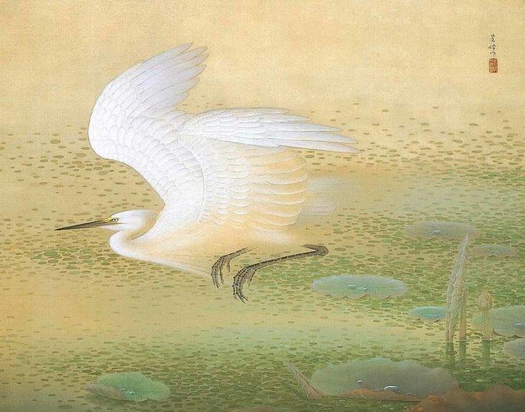 © Shiho Sakakibara, White Heron, 1926, Adachi Museum of Art