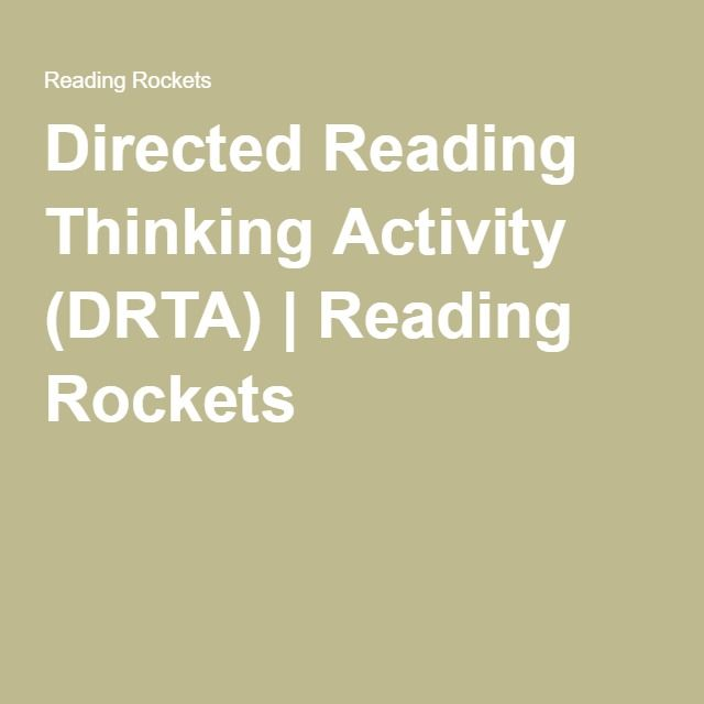 What is Directed Reading Thinking Activity?