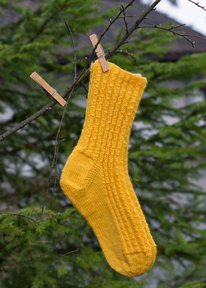 Chaussettes à torsades - Marie Claire Idées
