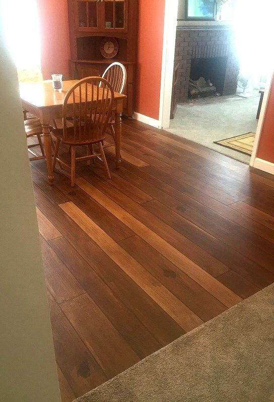 Stamped Faux Flooring : Faux concrete wood flooring durham nc north carolina