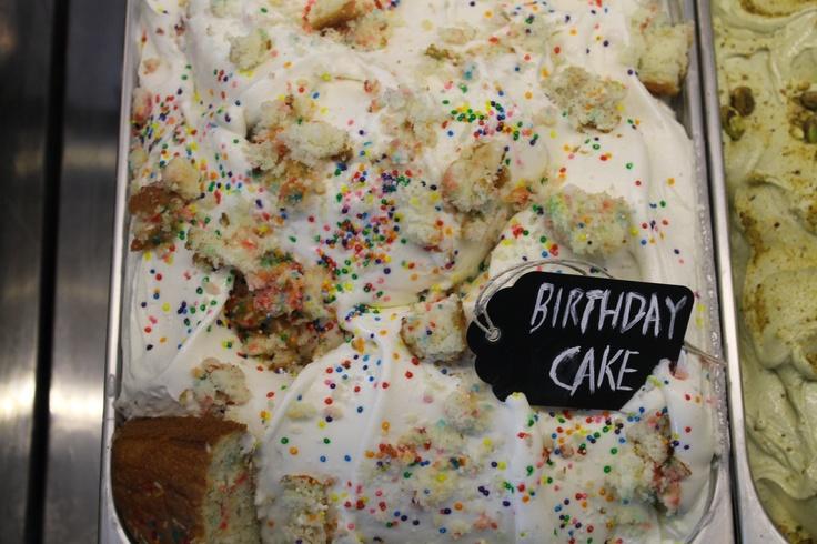 Birthday Cake Gelato