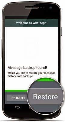 Cara Mengembalikan Chat Whastapp yang sudah Terhapus 1