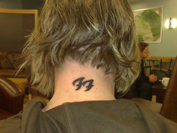 My Foo Fighters Tattoo