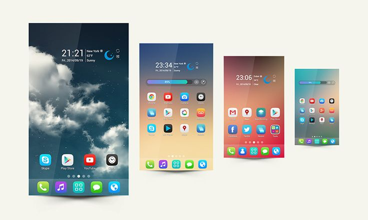 Genesis Go Launcher Android Themes