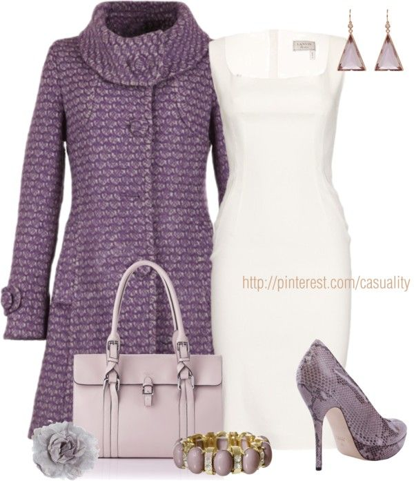 """Shades of Lavender"" by casuality on Polyvore"