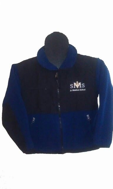 Special order fleece jackets for St. Matthew Catholic School